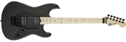 Charvel Pro Mod So-Cal Style 1 HH Floyd Rose Maple Neck Electric Guitar Metallic Black