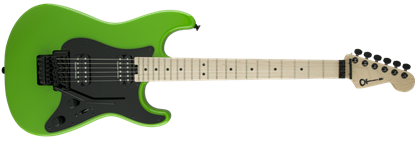 Charvel Pro Mod So-Cal Style 1 HH Floyd Rose Maple Neck Electric Guitar Slime Green