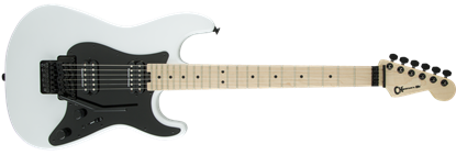 Charvel Pro Mod So-Cal Style 1 HH Floyd Rose Maple Neck Electric Guitar Snow White
