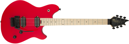EVH Wolfgang Standard HH Floyd Rose Maple Neck Electric Guitar Ferrari Red