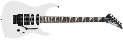 Jackson USA SL1 Soloist Electric Guitar White w Case