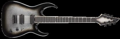 Jackson USA Signature Misha Mansoor Juggernaut HT6 Electric Guitar Silver Burst Sparkle