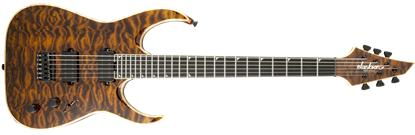 Jackson USA Signature Misha Mansoor Juggernaut HT6 Electric Guitar Amber Tiger Eye
