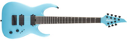 Jackson USA Signature Misha Mansoor Juggernaut HT7 7-String Electric Guitar Matte Blue Frost