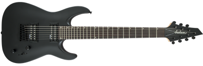 Jackson JS Series Dinky JS22-7 7-String Electric Guitar Satin Black