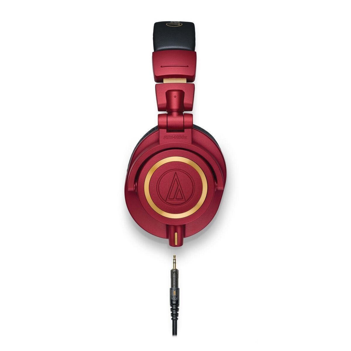 Audio-Technica ATH-M50xRD Red Limited Edition Studio Headphones - side view
