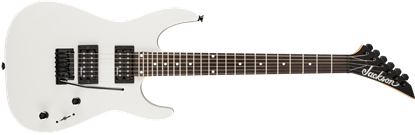 Jackson JS Series Dinky JS12  Electric Guitar Metallic White