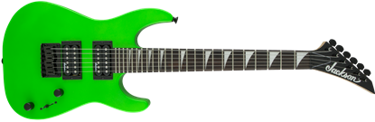 Jackson JS Series Dinky Minion JS1X Short Scale Electric Guitar Neon Green