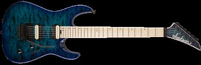 Jackson Pro Series Dinky DK2QM Electric Guitar Chlorine Burst