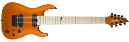 Jackson Pro Series Dinky DKA8M 8-String Electric Guitar Satin Orange Blaze