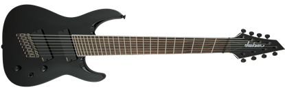 Jackson X Series Soloist Archtop SLAT8 MS Fanned Fret 8-String Electric Guitar Gloss Black