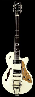 Duesenberg Starplayer TV Semi-Hollow Electric Guitar Vintage White with Case