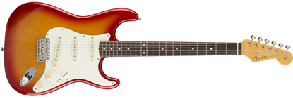 Fender Japan Exclusive Classic 60s Stratocaster RW Electric Guitar Cherry Burst