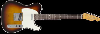 Fender Japan Exclusive Classic 60s Telecaster Custom RW Electric Guitar 3-Tone Sunburst