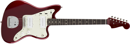 Fender Japan Exclusive Classic 60s Jazzmaster RW Electric Guitar Old Candy Apple Red