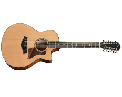 Taylor 656ce 12-String Spruce/Maple Acoustic Guitar with Pickup and Cutaway
