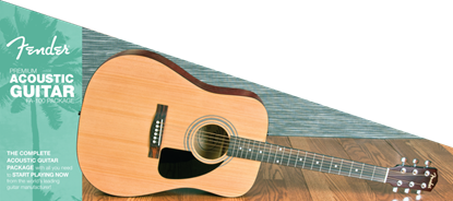 Fender FA-100 Acoustic Guitar Pack (FA100)