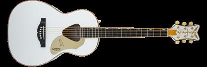 Gretsch G5021WPE Rancher Penguin Parlor Acoustic/Electric Guitar - White