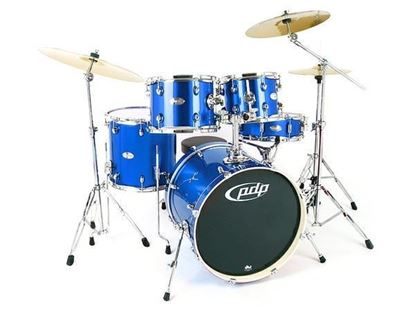 PDP Mainstage 20 Inch 5-Piece Drum Kit with Hardware/Cymbals (Select Finish)