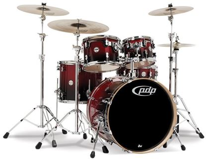 PDP Concept Birch CB5 22 Inch 5-Piece Drum Kit w Hardware/Cymbals/Evans (Select Finish)