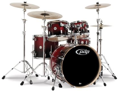 PDP Concept Birch CB5 20 Inch 5-Piece Drum Kit w Hardware/Cymbals/Evans (Select Finish)