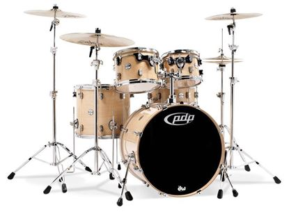 PDP Concept Maple CM5 20 Inch 5-Piece Drum Kit w Hardware/Cymbals/Evans (Select Finish)