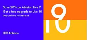 Ableton 20 Percent Off November 2017