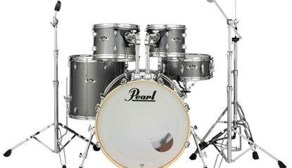 Pearl Export EXX725SPC 5 Piece 22 Inch Fusion Plus Drum Kit Grindstone Sparkle