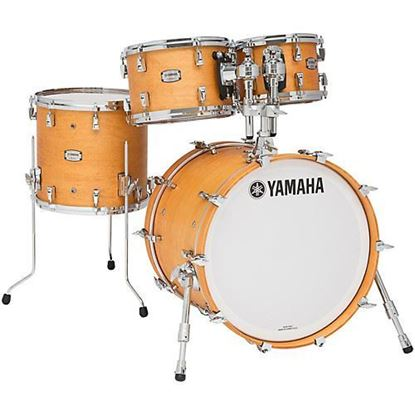 Yamaha Absolute Hybrid Maple Series  4-Piece Euro Shell Pack Drums (Select Finish)