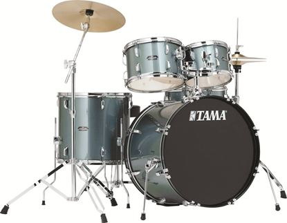 Tama Stagestar 20 Inch Fusion 5-Piece Drum Kit Charcoal Silver
