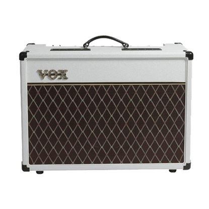 Vox AC10C1 Custom Combo Guitar Amplifier - White  - Front