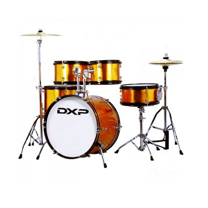 DXP Junior Series 5-Piece Drum Kit - Gold Sparkle (TXJ7GS)