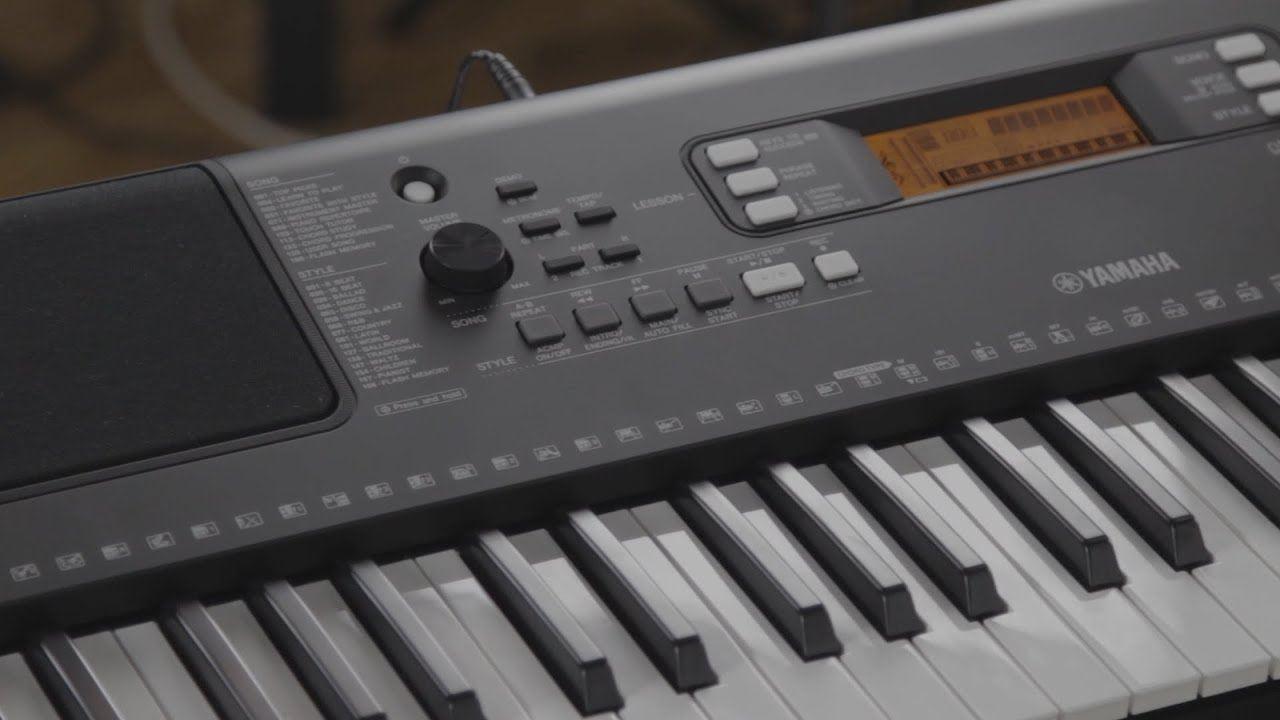 Yamaha PSR-E363 Portable 61 Key Keyboard (PSRE363)