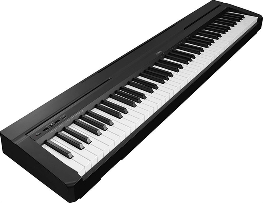 Yamaha P45 Portable Digital Piano Angle View