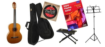 Back to School Classical Guitar Premium Bundle Essential SIMS Pack (KatohMCG35C)