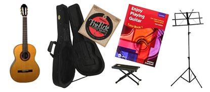 Back to School Classical Guitar Premium Bundle Essential SIMS Pack (KatohMCG50S)