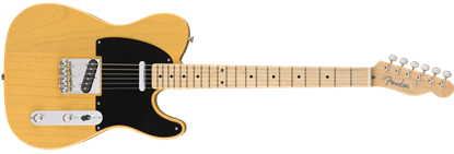 Fender American Original '50s Telecaster Electric Guitar - Butterscotch Blonde