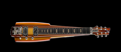 Duesenberg Fairytale Lapsteel - Goldburst Finish - Top