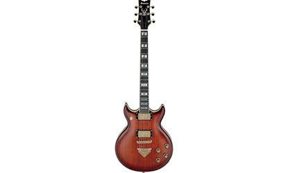 Ibanez AR720 BSQ Electric Guitar in Hard Case Bursted Smokey Quartz
