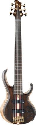 Ibanez BTB1826 NTL Premium 6 String Bass Guitar in Case Natural Low Gloss