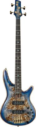 Ibanez SR2600 CBB Premium Bass Guitar in Case Cerulean Blue Burst