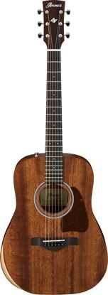 Ibanez AW54JR OPN Acoustic Guitar in Padded Bag Open Pore Natural