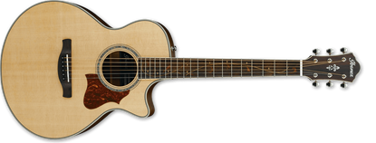Ibanez AE205JR OPN Acoustic Guitar Open Pore Natural
