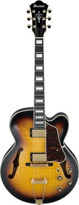 Ibanez AF95FM AYF Artcore Hollowbody Guitar Antique Yellow Sunburst