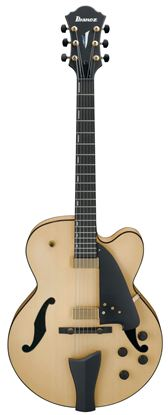 Ibanez AFC95 NTF Artcore Hollowbody Guitar Natural Flat