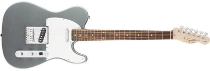 Squier Affinity Telecaster Electric Guitar Maple Neck Slick Silver