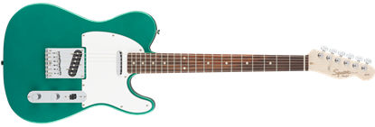 Squier Affinity Telecaster Electric Guitar Maple Neck Race Green