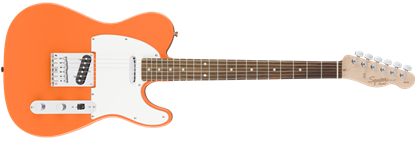 Squier Affinity Telecaster Electric Guitar Maple Neck Competition Orange