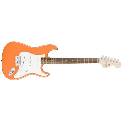 Squier Affinity Stratocaster Electric Guitar Rosewood Competition Orange