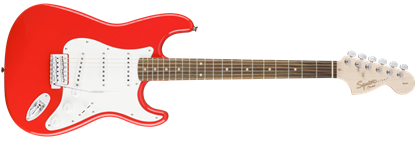 Squier Affinity Stratocaster Electric Guitar Rosewood Race Red